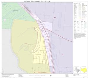 Primary view of object titled '2010 Census County Block Map: Cameron County, Inset T01'.