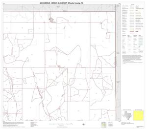 Primary view of object titled '2010 Census County Block Map: Wheeler County, Block 3'.