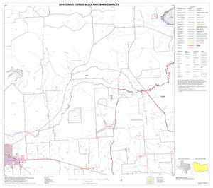 Primary view of object titled '2010 Census County Block Map: Bowie County, Block 5'.
