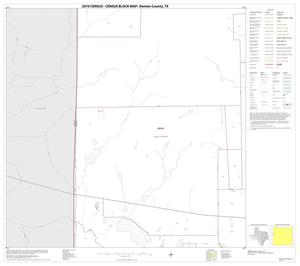 Primary view of object titled '2010 Census County Block Map: Denton County, Block 31'.