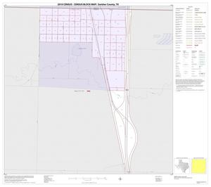 Primary view of object titled '2010 Census County Block Map: Swisher County, Inset A01'.