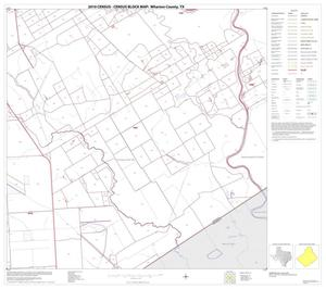 Primary view of object titled '2010 Census County Block Map: Wharton County, Block 33'.