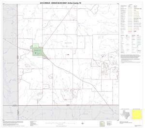 Primary view of object titled '2010 Census County Block Map: Archer County, Block 13'.