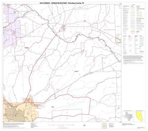 Primary view of object titled '2010 Census County Block Map: Cherokee County, Block 11'.