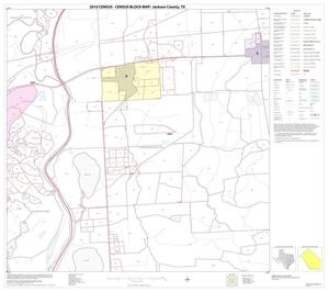 Primary view of object titled '2010 Census County Block Map: Jackson County, Block 14'.