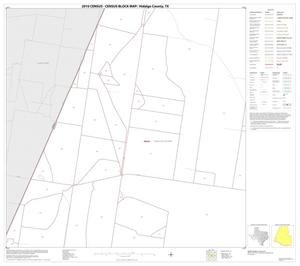 Primary view of object titled '2010 Census County Block Map: Hidalgo County, Block 59'.