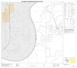Primary view of object titled '2010 Census County Block Map: Cooke County, Block 11'.