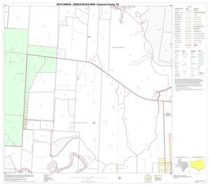 Primary view of object titled '2010 Census County Block Map: Cameron County, Block 27'.