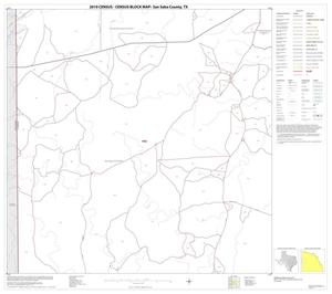 Primary view of object titled '2010 Census County Block Map: San Saba County, Block 8'.