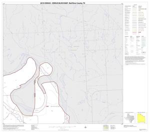 Primary view of object titled '2010 Census County Block Map: Red River County, Block 3'.