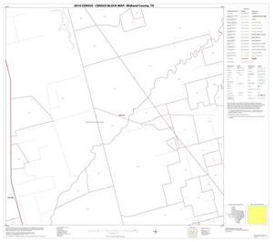 Primary view of object titled '2010 Census County Block Map: Midland County, Block 11'.