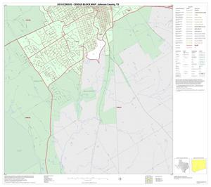 Primary view of object titled '2010 Census County Block Map: Johnson County, Inset H02'.