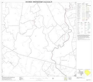 Primary view of object titled '2010 Census County Block Map: Lavaca County, Block 17'.