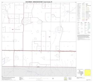 Primary view of object titled '2010 Census County Block Map: Carson County, Block 15'.