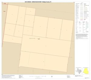 Primary view of object titled '2010 Census County Block Map: Hidalgo County, Inset K01'.