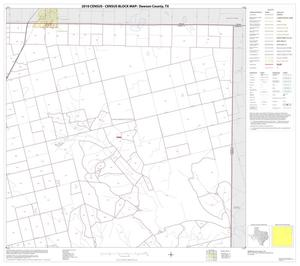 Primary view of object titled '2010 Census County Block Map: Dawson County, Block 3'.