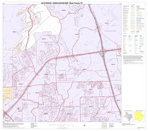 Primary view of object titled '2010 Census County Block Map: Bexar County, Block 15'.