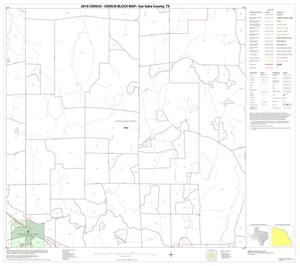 Primary view of object titled '2010 Census County Block Map: San Saba County, Block 5'.