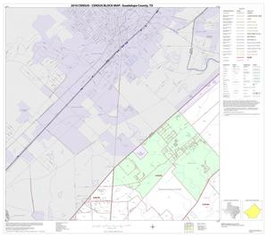 Primary view of object titled '2010 Census County Block Map: Guadalupe County, Block 1'.