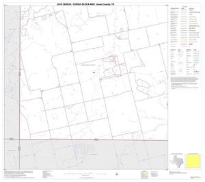 Primary view of object titled '2010 Census County Block Map: Jones County, Block 13'.