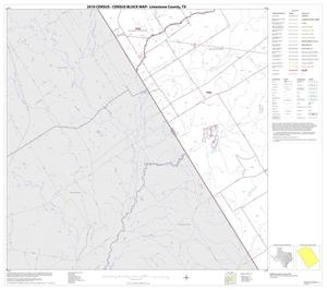 Primary view of object titled '2010 Census County Block Map: Limestone County, Block 16'.