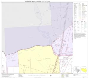 Primary view of object titled '2010 Census County Block Map: Harris County, Block 55'.