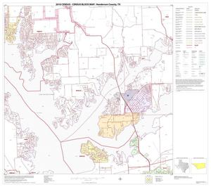 Primary view of object titled '2010 Census County Block Map: Henderson County, Block 12'.