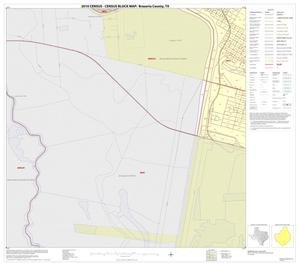 Primary view of object titled '2010 Census County Block Map: Brazoria County, Inset V03'.