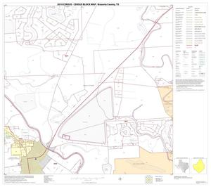 Primary view of object titled '2010 Census County Block Map: Brazoria County, Block 32'.