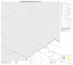 Primary view of object titled '2010 Census County Block Map: Sabine County, Block 1'.