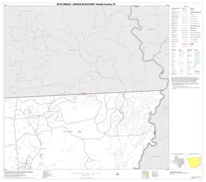 Primary view of object titled '2010 Census County Block Map: Hardin County, Block 4'.
