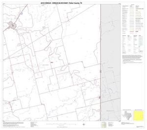 Primary view of object titled '2010 Census County Block Map: Fisher County, Block 12'.