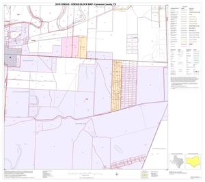 Primary view of object titled '2010 Census County Block Map: Cameron County, Block 45'.