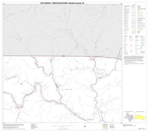 Primary view of object titled '2010 Census County Block Map: Bandera County, Block 3'.