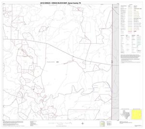 Primary view of object titled '2010 Census County Block Map: Garza County, Block 6'.