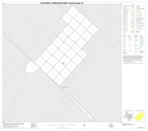 Primary view of object titled '2010 Census County Block Map: Fayette County, Inset I01'.