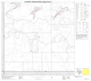 Primary view of object titled '2010 Census County Block Map: Hemphill County, Block 13'.