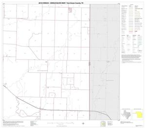Primary view of object titled '2010 Census County Block Map: Tom Green County, Block 18'.