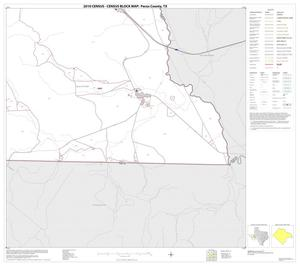 Primary view of object titled '2010 Census County Block Map: Pecos County, Block 57'.