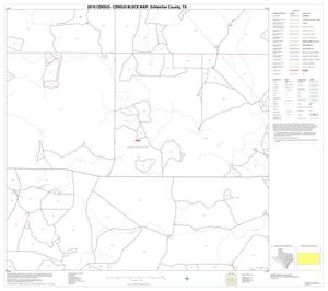 Primary view of object titled '2010 Census County Block Map: Schleicher County, Block 11'.