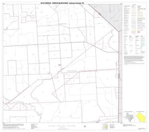 Primary view of object titled '2010 Census County Block Map: Jackson County, Block 12'.