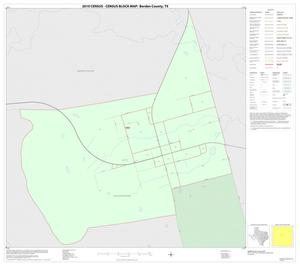 Primary view of object titled '2010 Census County Block Map: Borden County, Inset A01'.