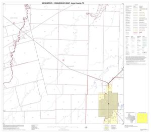 Primary view of object titled '2010 Census County Block Map: Jones County, Block 6'.