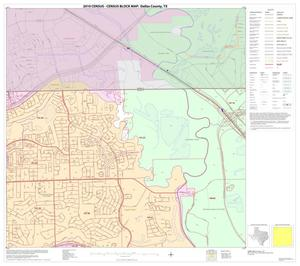 Primary view of object titled '2010 Census County Block Map: Dallas County, Block 2'.