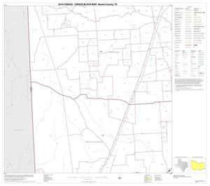 Primary view of object titled '2010 Census County Block Map: Bowie County, Block 9'.