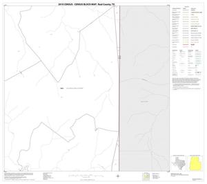 Primary view of object titled '2010 Census County Block Map: Real County, Block 8'.