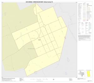 Primary view of object titled '2010 Census County Block Map: Grimes County, Inset E01'.