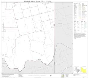 Primary view of object titled '2010 Census County Block Map: Hardeman County, Block 15'.
