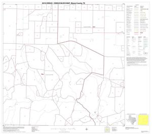 Primary view of object titled '2010 Census County Block Map: Moore County, Block 7'.