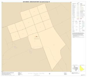 Primary view of object titled '2010 Census County Block Map: San Jacinto County, Inset C01'.